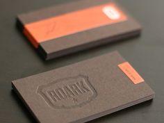 Roark Design Business Cards | Business Cards | The Design Inspiration