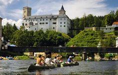 Rožmberk Castle - Rožmberk: a Romanesque residence with art masterpieces Romanesque, Summer Months, Tour Guide, Czech Republic, Castles, Tours, Mansions, Country, World