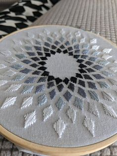 Post with 4447 views. Abstract Embroidery, Hand Embroidery Art, Hand Embroidery Tutorial, Hand Embroidery Videos, Embroidery Techniques, Embroidery Hoop Art, Beaded Embroidery, Hand Embroidery Projects, Hand Embroidery Design Patterns