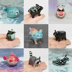 Shop update in 2h!  9 PM GMT ● 4 PM EST ● 1PM PST Exotic Dragon for auction one hour after update!^^ #ramalama #creature #handmade #ramalamacreatures #polymer #clay #polymerclay #animals #animal #sculpture #tiny #cute #miniature #figurine #fimoclay #fimo #kawaii #gift #etsy