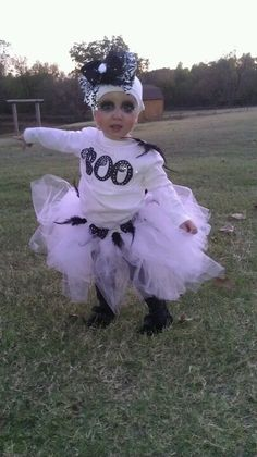 Toddler girl ghost Halloween costume halloween costume #costumes