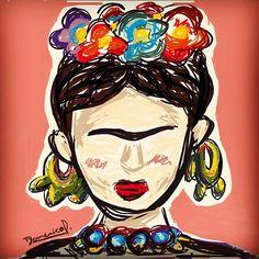 frida kahlo para colorear - Buscar con Google