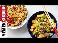 (36) Uzak Doğu Yemeği Meydan Okuması | Dışardan Söylediğimiz Yemekler - YouTube
