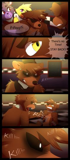 FNAF - Chapter 1 - 11 by CristalWolf567