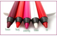 Do you wear a lip pencil? Might I recommend Urban Decay's 24/7 Glide-On Lip Pencils?