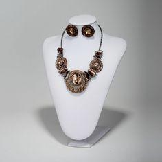 Butterfly Bib Shell Necklace Jewelry Set