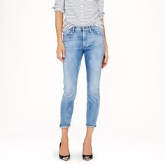 Goldsign® for J.Crew Jenny jean in rosewood wash : In Good Company | J.Crew