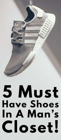 5 Must Have Shoes For Men Mens Fashion Blog, Fashion Shoes, Fashion Trends, Fashion Inspiration, Latest Beard Styles, Men Closet, Best Shoes For Men, Fashion 2020, Men's Fashion
