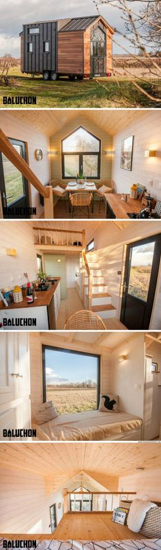 The Little Prince from French tiny house builders, Baluchon