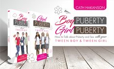 Boy and Girl Puberty book - have honest conversations that will guide your child through puberty. Teaching Boys, Book Reviews For Kids, Love And Logic, Parent Resources, Parenting Teens, Tween Girls, Guide Book, Videos Funny, Your Child