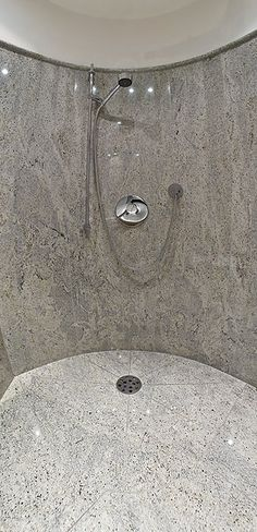 Kashmir White granite shower