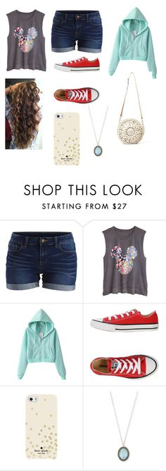 """Casual"" by vic-valdez on Polyvore featuring VILA, Converse, Kate Spade, Armenta and Aranáz"