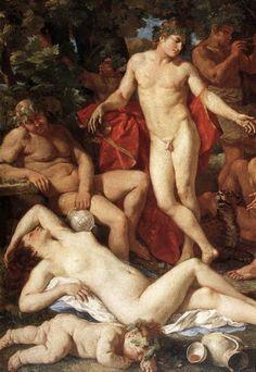 Midas and Bacchus [detail] Nicola Pussen