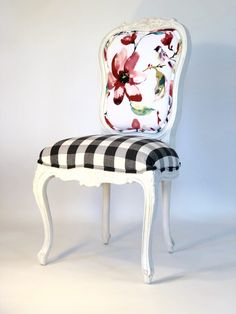 Custom Dining Chairs - Shop All Chairs on Chair Whimsy Decor, Refinished Chairs, Farmhouse Chairs, Painted Furniture, Shop Chair, Farmhouse Furniture, Dining Chairs, Custom Dining Chairs, Upholstered Chairs