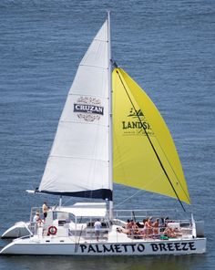 Palmetto breeze is a 60 foot catamaran that came to our yard for its annual haul as well as USCG recertification.  Capt John blocked two weeks out of this busy charter vessels schedule to have us take care of a few items.