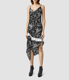 Womens Leto Willow Dress (Black) - product_image_alt_text_1
