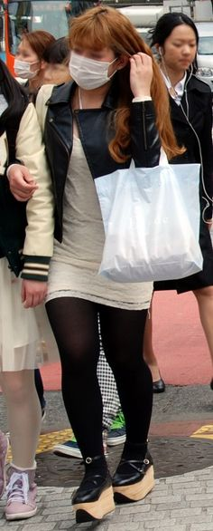 #Platformshoes trendspotted in the #japanesestreets of TOKYO this #Spring2013 but www.fashioninjapan.com