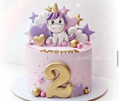 Baby Girl Birthday Cake, Cute Birthday Cakes, Beautiful Birthday Cakes, Baby Girl Cakes, Elegant Birthday Cakes, Buttercream Cake, Fondant Cakes, Cupcake Cakes, Birtday Cake