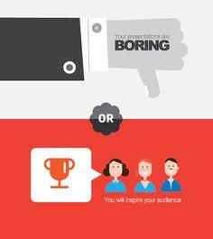 Good and bad presentations graphics