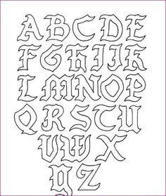Graffiti lettre calligraphie graffiti lettering lettering et graffiti alphabet - Lettre graffiti modele ...