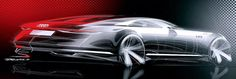 These are the first sketches of Audi Design's new Prologue concept, set to make…