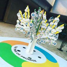 #promise tree at #masdar Make a promise for #worldin2026 #spiritofmasdar #adsw2017