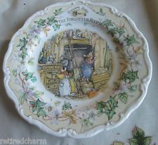 ❤RARE HTF ROYAL DOULTON Brambly HEDGE ~THE FORGOTTEN ROOM~ PLATE Collector Item❤