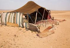 arab tent: The bedouins tent in the sahara, morocco
