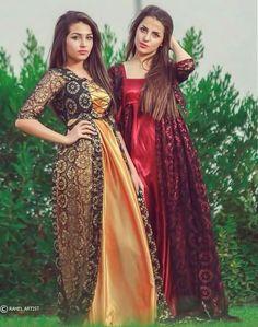 Kurdish dress Eid Dresses, Satin Dresses, Silk Dress, Jli Kurdi, Persian Beauties, Boss Lady, Traditional Dresses, Silk Satin, Formal Wear