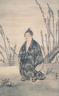 "japaneseaesthetics:  Yokoyama Taikan -""Innocence""- Early 20th century, Japan"