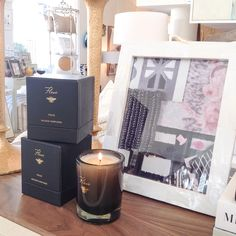We love this Fleur Collection candle!