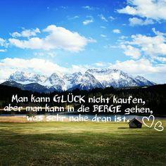 #mankanngluecknichtkaufen #quotes #bergsüchtig #mountainadventure #alpenweltkarwendel #geroldsee #favouriteplace #photography #nikon #bluesky #bavariansky #Bavaria #werdenfelserland #garmischpartenkirchen #sun #glueck #mountains #alps #heimat #heimatliebe