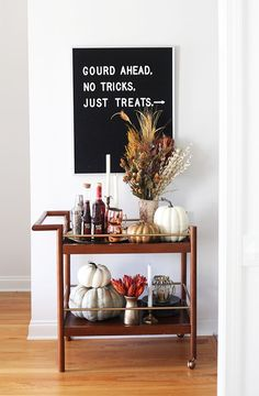 Bar Cart Ideas - There are some cool bar cart ideas which can be used to create a bar cart that suits your space. Having a bar cart offers lots of benefits. This bar cart can be used to turn your empty living room corner into the life of the party.