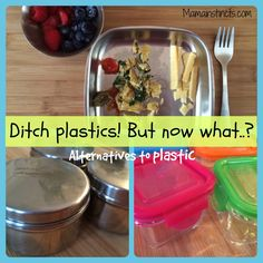 Ditch plastics! But now what..? | Alternatives to plastic
