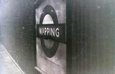 At Wapping Underground Station, London, 5 November 1955 London Docklands, The 5th Of November, East London, Old Pictures, Family History, Door Handles, Gun, Places, Photography