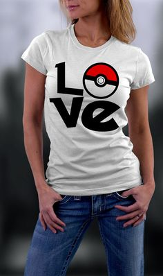Pokemon Valentine Shirt Love Pokemon Shirt by styleURshirt on Etsy