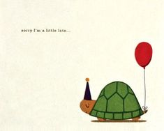 Turtle Belated Birthday Card - - Turtle Belated Birthday Card Happy Birthday and Thank you Very Much! A LIttle Late Turtle Belated Birthday Card Belated Birthday Card, Late Birthday, Happy Birthday Quotes, Happy Birthday Images, Happy Birthday Greetings, Birthday Pictures, Birthday Messages, Funny Birthday Cards, Birthday Ideas
