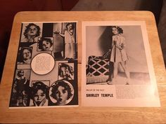 SHIRLEY TEMPLE - Vintage Clippings