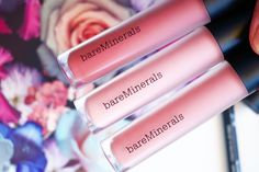 NEW BARE MINERALS GEN NUDE COLLECTION matte liquid lipsticks kissyface, infamous