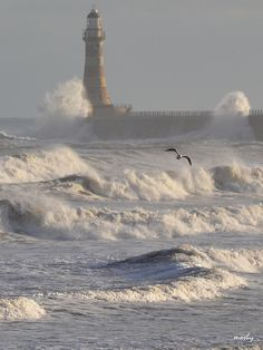 Choppy Seas at Roker Pier, Sunderland | Flickr – Condivisione di foto!
