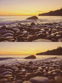 bonniebrook beach sunset | oceanscape | sunshine coast, bc | jennifer picard photography | west coast beauty
