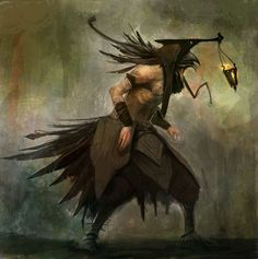 Crowman by Colorbind on DeviantArt