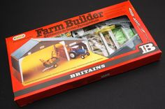 Vintage Toys Wanted by the-toy-exchange - A sealed BRITAINS FARM BUILDER set.