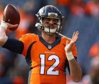 "Paxton Lynch has ""great day"" in bid to win Broncos' job"