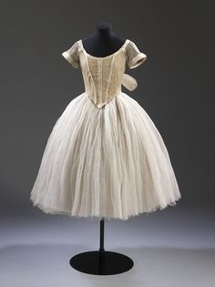 Costume for a Sylph in Les Sylphides  Worn by Lydia Lopokova c.1920  Made 1909