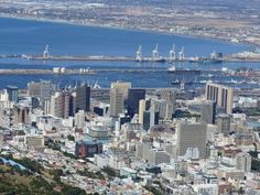 The second-most populous city in South Africa, Cape Town is famous for its harbour, Table Mountain and Cape Point. It is the most popular international tourist destination in South Africa. Pretoria, Machu Picchu, Cancun, Alaska, Cities In Africa, South Africa Safari, Table Mountain, African Countries, Africa Travel