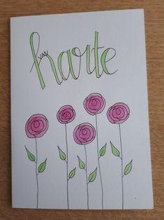 Kaartjes by Astrid #flowers #watercolor