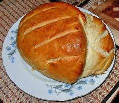 Try to cook a delicious homemade bread for yourself and you will see that this bread is much tastier and much cheaper than the stores. ToHow to Russian Recipes, Food To Make, Good Food, Rolls, Tasty, Homemade, Cooking, Breads, Pizza