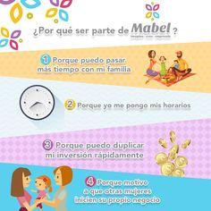 ¿Conoces las ventajas de ser una mamá emprendedora con Mabel?