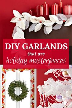 The straw garland is our favorite!/